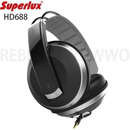 Superlux 舒伯樂 HD688 封閉式專業監聽級耳機 公司貨一年保固