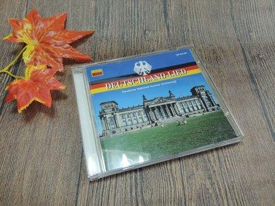 Q1912-二三十年前二手CD-奧地利製】DEUTSCHLAND-LIED-德國國歌-演唱版與演奏版等12首-KOCH-
