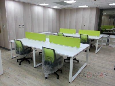 【耀偉】OTTO系統工作站 (辦公桌/辦公屏風-規劃施工-拆組搬遷工程-組合隔間-水電網路)7