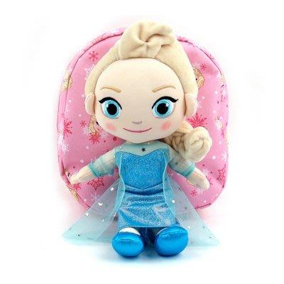 ♀高麗妹♀韓國 Disney FROZEN II 冰雪奇緣2 艾莎兒童背包/防走失包(預購)
