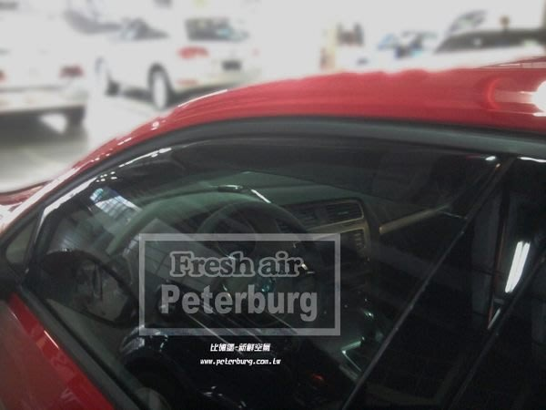 比德堡崁入式晴雨窗 福斯VW GOLF7 VARIANT 2014年起  原廠品質 OEM正品 全車四片