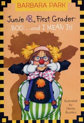 *小貝比的家*JUNIE B., FIRST GRADER BOO...AND I MEAN IT /7~12歲/萬聖節
