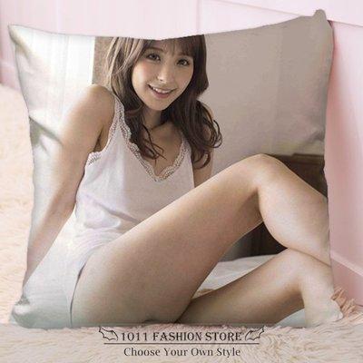 全新 AV女優 桃乃木香奈 桃乃木かな 桃乃木 方形抱枕 枕頭 抱枕 午睡枕 娃娃 IPZ-003