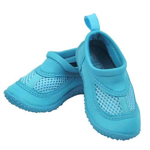 零碼出清。美國 i play 寶寶防滑游泳鞋-海藍/不含雙酚A/美國原裝進口