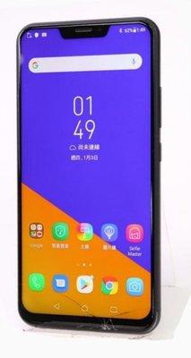 ASUS ZenFone 5Z Zs620KL 6.2吋 (6G/64G)二手外觀九成新智慧型手機螢幕下方有裂痕使用功能正常已過原廠保固期