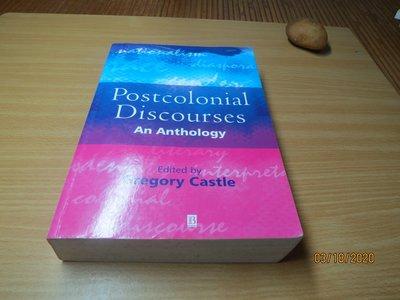 Postcolonial Discourse: An Anthology---有打折-買2本書打九折3本書總價打八折+只