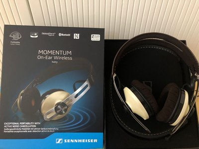 全新Sennheiser 超靚聲藍芽耳機無線耳筒Sennheiser Moment On-Ear wireless (行貨)