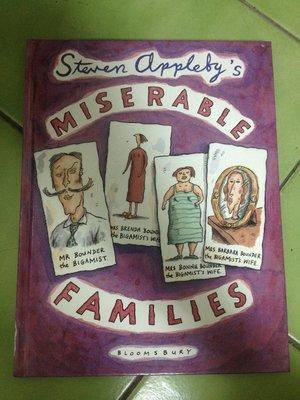 (標即結)(絕版)Steven Appleby-Steven Appleby's Miserable Families