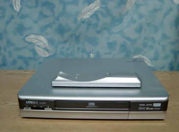 Y【小劉二手家電】LITEON  DVD錄放影機,LVW1105GHC型,附萬用遙控器,壞機可修/抵!