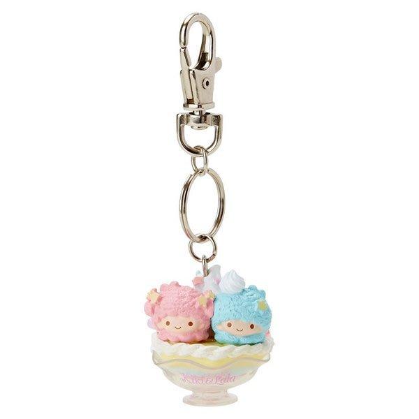 代購現貨 日本三麗鷗雙子星 聖代造型鑰匙扣