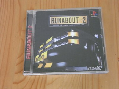 【小蕙館】PS~ RUNABOUT-2 climax ( 純日版 ) 有側標