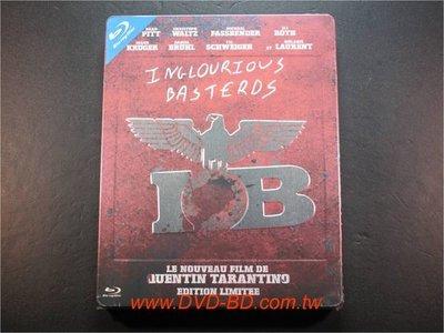 [藍光BD] - 惡棍特工 Inglorious Bastards 限量精裝鐵盒版 - 布萊德彼特、黛安克魯格