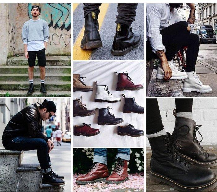 經典馬丁靴(男女款)