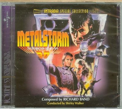 Metalstorm: The Destruction of Jared-Syn- Richard Band,全新,04