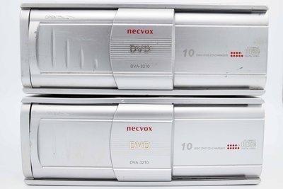 清倉便宜賣 NECVOX 六片 十片 DVD換片箱