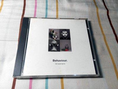 NO243 二手CD 寵物店男孩 PET SHOP BOYS BEHAVIOUR 499元起標 板南線可面交