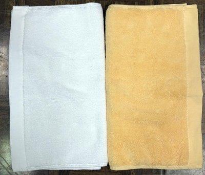 台灣製100%純棉 48兩 高級 雙股紗 素面毛巾 #養生館用