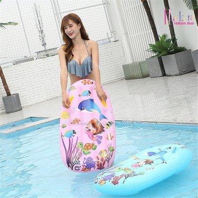 ☆[Hankaro]☆夏日戲水海底世界圖案印刷兒童浮排