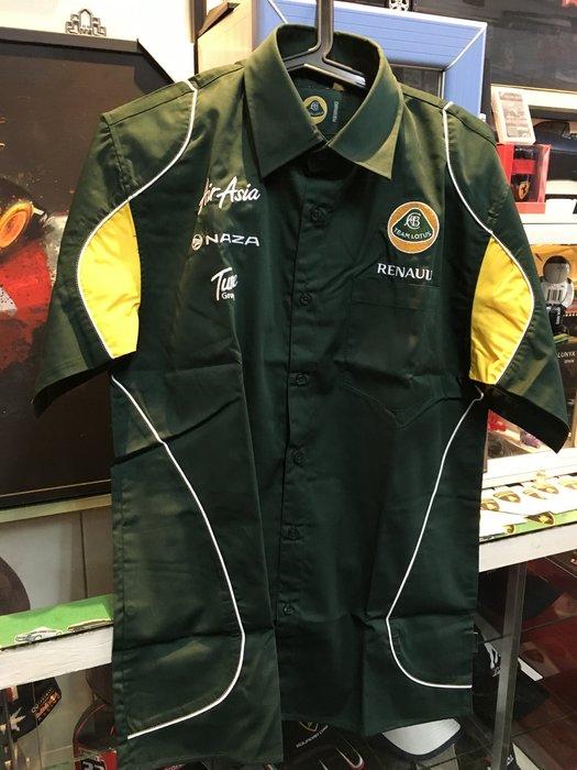 TAIWANSPEED極速台灣賽車時尚館-Lotus F1蓮花車隊經理衫--特價~~