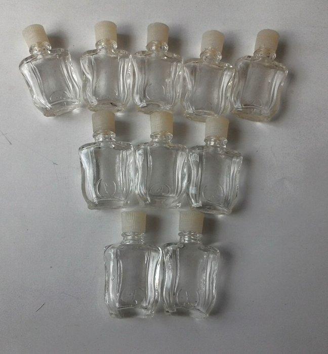 早期氣泡老玻璃10瓶合拍-10