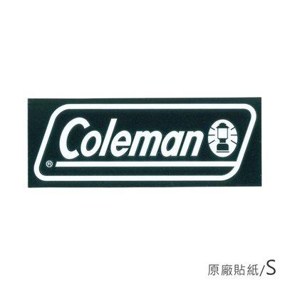 【露營趣】Coleman CM-10524 原廠貼紙/S 汽車貼紙 抗UV 防退色