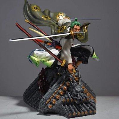 海賊王 GK超大索隆 和服裝 GT 和之國索隆 手辦 模型 擺件 雕像