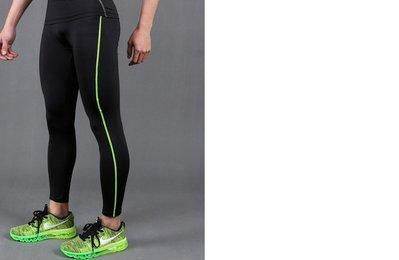 壓縮褲 緊身褲 內搭褲 束褲 黑色綠線 多色 NBA 林書豪 James Kobe Curry 籃球 慢跑 路跑 台中市