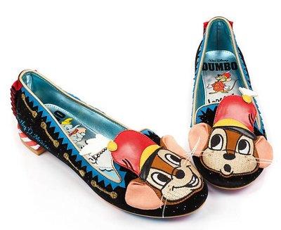 Irregular Choic英國代購Irregular Choice X Disney Dumbo Timothy 鞋