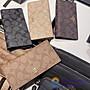 品牌折扣館 美國代購正品 COACH 88026 PVC配牛皮對折長款錢包 皮夾 附購買證明