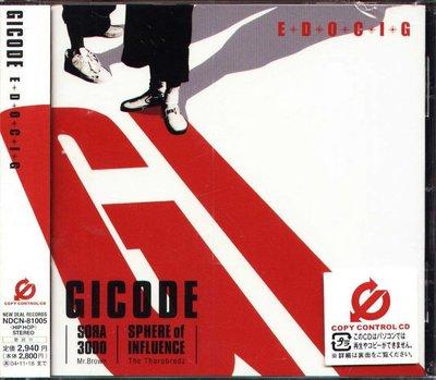 K - GICODE - E.D.O.C.I.G - 日版 - NEW