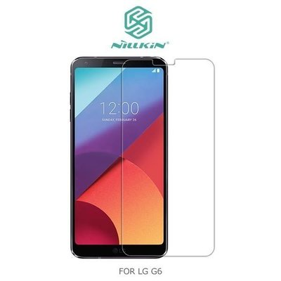 *Phone寶*NILLKIN LG G6 Amazing H 防爆鋼化玻璃貼 鋼化膜 玻璃貼 9H硬度 含超清鏡頭貼