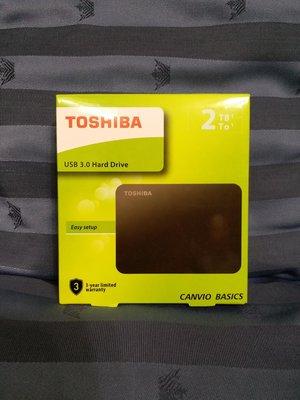 『BAN'S SHOP』TOSHIBA 東芝 2.5吋 外接式硬碟  2T  3年保固  全新
