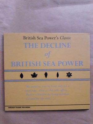 (下標即結標)British Sea Power-The Decline of British Sea Power