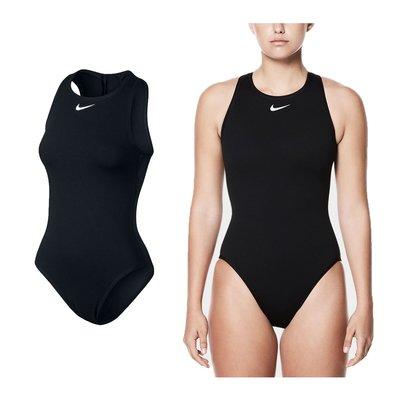 NIKE SWIM 女即頸連身泳衣 (免運 連身泳裝 游泳 海邊【03450031】≡排汗專家≡