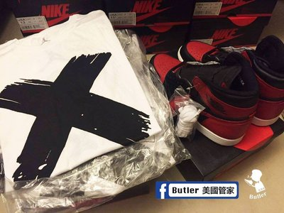 [Butler] 現貨 Air Jordan Banned X 白 黑 842254-100