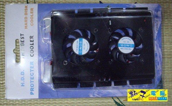 ...點子電腦-北投店...雙風扇,鋁合金◎3.5 吋硬碟散熱器◎優惠價50元(金色款)