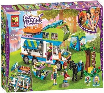 【博樂 積木 10858 米雅露營車 女孩 好朋友 Friends系列】非樂高 LEGO 41339