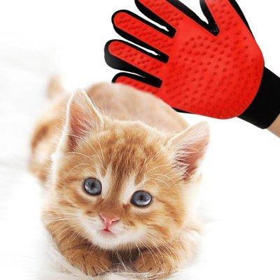 擼貓手套梳毛手套貓梳子寵物除毛去毛脫毛梳子貓咪用品貓毛清理器【潮男阿舍】