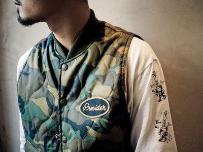 ㊣IZAC MALL㊣ Provider 2017 F/W - Camo Mountain Vest 迷彩 免運費