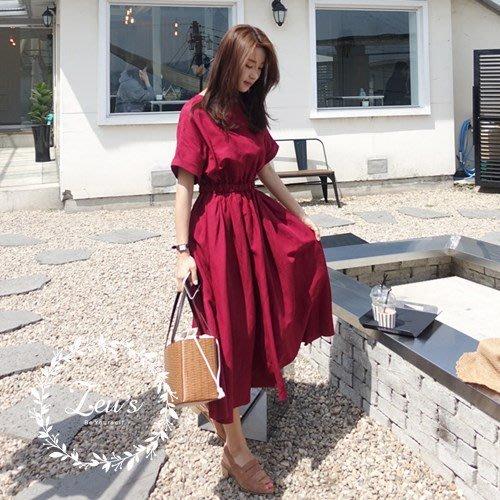 【ZEU'S】韓國文藝風氣質甜美洋裝『 08217505 』【現+預】HB