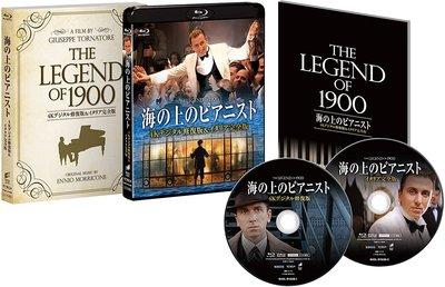 毛毛小舖--藍光BD 海上鋼琴師 4K修復+義大利完全版 日本限定版