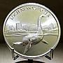 «自由銀» Loch Ness Monster 高浮雕款-尼斯湖怪獸銀幣  (2 toz=62.2g)