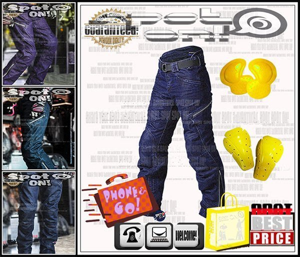Spot ON - RPMCN R1 牛仔褲 防摔褲.新款CE護具!優惠FUN送! 搖滾風 歐風 FZ1 FZ6S 彩鈦