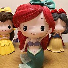 Princess 公主系列錢箱擺設 Ariel,Snow White,Cinderella,Belle,