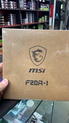 『高雄程傑電腦』微星 MSI MAG MAX F20A-1 20CM風扇 ARGB 4-PIN PWM 【少量現貨】