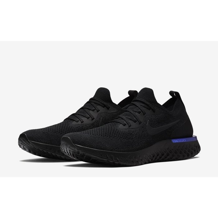 Nike Wmns Epic React Flyknit (AQ0070-004)黑潮流時尚慢跑運動鞋男女