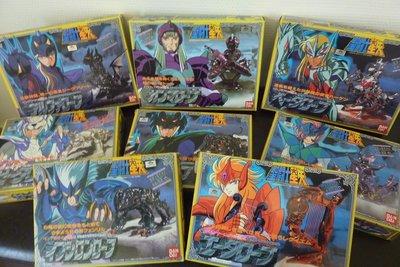 聖鬥士星矢-日版聖衣大系之北歐神鬥衣整組 8PCS