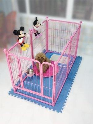 現貨/狗狗圍欄柵欄隔離室內寵物圍欄狗柵欄圍欄大型犬狗籠子小型犬中型76SP5RL/ 最低促銷價