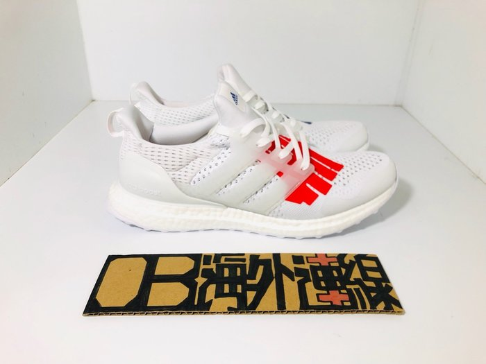 BEETLE ADIDAS ULTRA BOOST UNDEFEATED 白 紅藍 EF1968 USA 美國 男女