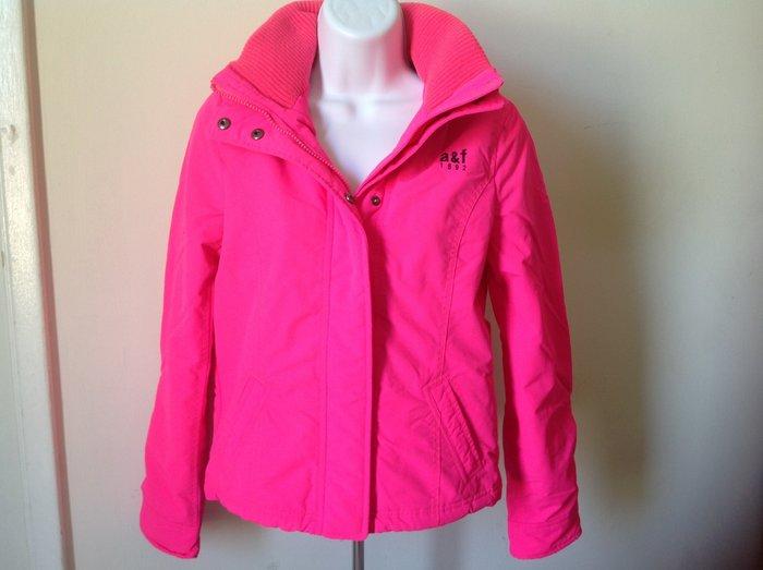 【天普小棧】a&f abercrombie all-season weather jacket立領風衣外套KIDS XL